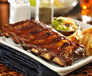 Organic Pork Back Ribs - Four - 1.5lb avg. Pork Back Rib