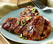 Organic Country-Style<br />Boneless Pork Ribs