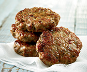 Organic Pork<br />Breakfast Sausage - Five 12-oz. pkgs. Pork Breakfast Sausage