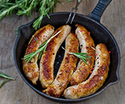 Organic Italian<br />Pork Sausage - Eight 12-oz. pkgs. / 32 Italian Pork Sausages