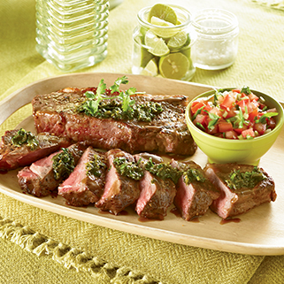 Premium Organic<br />New York Strip Steak