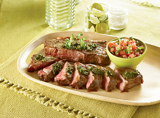 Premium OrganicNew York Strip Steak