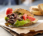 Organic Roast Beef Slices - Half Price - Twenty 6-oz. pkgs. Roast Beef Slices