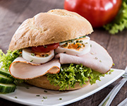 Organic Smoked Turkey Breast Slices - Twenty 6-oz. pkgs. Smoked Turkey Breast Slices