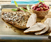 Organic Boneless<br />Skinless Turkey Breast - Four approx. 16-oz. Boneless Skinless Turkey Breasts (2-3 pieces per pkg.)