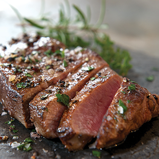 100% Organic Grassfed New York Strip Steak