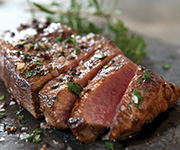 Organic Grass Fed New York Strip Steak