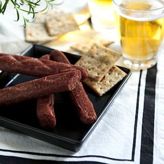 NEW!  Organic Beef Landjaeger Sausage