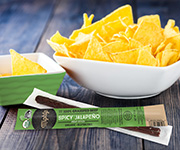 NEW! Organic Beef Mighty Sticks, Jalapeno - Twenty Four .75-oz. Organic Beef Mighty Sticks, Jalapeno