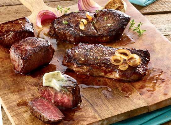 Organic 100% Grass Fed Steak Sampler