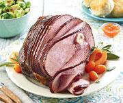 Organic Hardwood Smoked 1/2 Ham