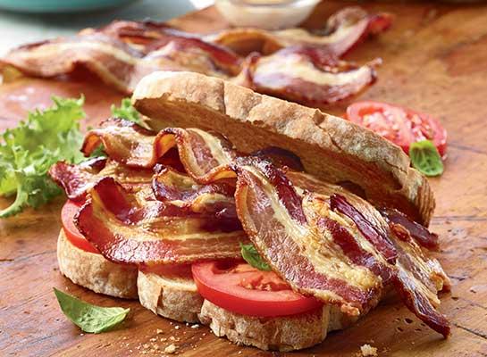 Organic Hardwood Smoked Uncured Bacon