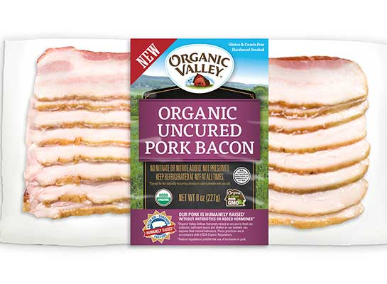 Organic Valley Fresh to Frozen Organic Pork Bacon