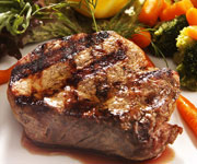 Premium Organic Sirloin Steak - Six 8-oz. Steaks