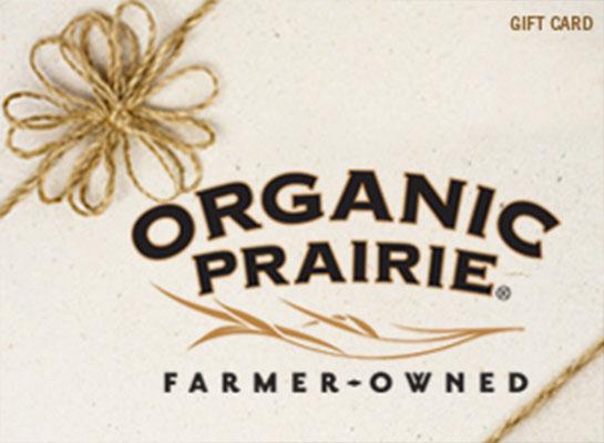 Organic Prairie Virtual Gift Card