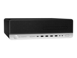 HP EliteDesk 800 G4 - SFF - 1 x Core i5 8500 / 3 GHz - RAM 8 GB - SSD 256 GB - NVMe(4DP54UT#ABA)