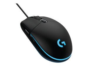 Logitech Pro Gaming Mouse - Mouse - optical - 6 buttons - wired - USB (910-004855)