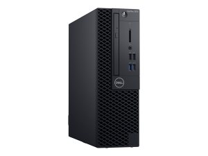 Dell OptiPlex 3070 - SFF - 1 x Core i5 9500 / 3 GHz - RAM 8 GB - HDD 1 TB - DVD-Writer - UHD Graphics 630 - GigE - Win 10 Pro 64-bit - monitor: none  (G14D2)