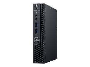 Dell OptiPlex 3060 - Micro - 1 x Core i5 8500T / 2.1 GHz - RAM 8 GB - SSD 256 GB - Class 20 - UHD Graphics 630 - GigE - WLAN: 802.11a/b/g/n/ac, Bluetooth 4.1 - Win 10 Pro 64-bit (XKF5K)