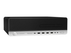HP EliteDesk 800 G3 - SFF - 1 x Core i5 6500 / 3.2 GHz - RAM 8 GB - SSD 256 GB - NVMe, TLC - DVD-Writer (1FZ07UT#ABA)