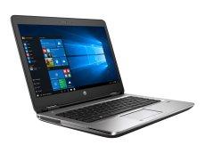 HP ProBook 640 G2 - Core i5 6200U / 2.3 GHz - Win 10 Pro 64-bit - 8 GB RAM - 256 GB SSD NVMe - DVD-Writer (2WM63UT#ABA)