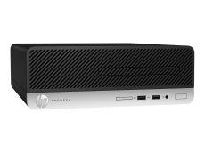HP ProDesk 400 G5 - SFF - 1 x Core i5 8500 / 3 GHz - RAM 8 GB - SSD 256 GB - NVMe - DVD-Writer - UHD Graphics 630 - GigE - Win 10 Pro 64-bit (4DQ09UT#ABA)