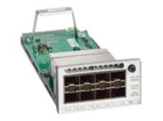 Cisco Catalyst 9300 Series Network Module - Expansion module - 10 Gigabit SFP+ x 8 (C9300-NM-8X)