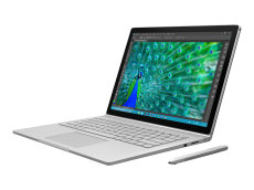 Microsoft Surface Book - Tablet - with detachable keyboard - Core i5 6300U / 2.4 GHz - Win 10 Pro 64-bit - 8 GB RAM - 128 GB SSD (CR9-00001)