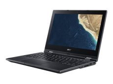 "Acer TravelMate Spin B1 TMB118-G2-RN-C0UY - Flip design - Celeron N4000 / 1.1 GHz - Win 10 Pro 64-bit National Academic - 8 GB RAM - 128 GB SSD - 11.6"" touchscreen 1920 x 1080 (Full HD) - UHD Graphics 600 - Wi-Fi, Bluetooth - black (NX.VHRAA.004)"