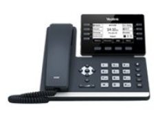 Yealink SIP-T53W - VoIP phone - with Bluetooth interface with caller ID - SIP, SIP v2, SRTP - 12-line operation - classic gray(SIP-T53W)