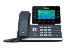 Yealink SIP-T54W - VoIP phone - with Bluetooth interface with caller ID - IEEE 802.11a/b/g/n/ac (Wi-Fi) - SIP, SIP v2, SRTP - classic gray(SIP-T54W)