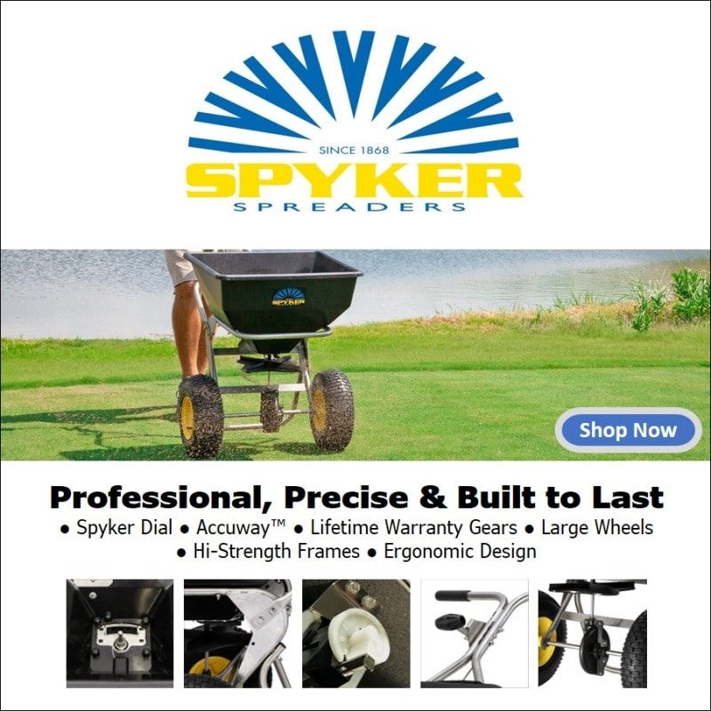 Shop our line of professional Spreaders manufactured by Spyker