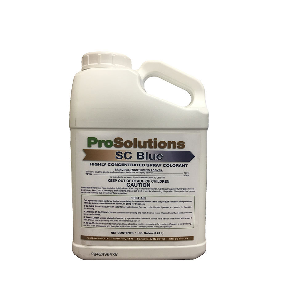 ProSolutions SC Blue Concentrated Spray Colorant. 1Gallon (Generic Terramark)
