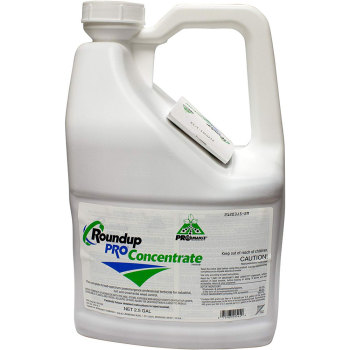 Roundup Pro Concentrate. 2.5 Gallon. 50.2% Glyphosate