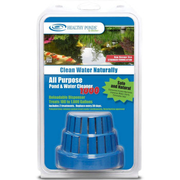 All Purpose Pond & Water Cleaner: 1,000 gallon Dispenser with 2, 30-Day Refills