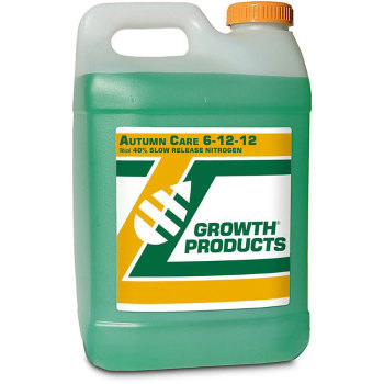 Autumn Care 6-12-12 with 40% Smart Nitrogen,FE,MN,Sugars and Enzymes 2.5 Gallon