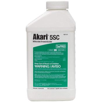 Akari 5 SC Miticide/Insecticide - 1 Quart