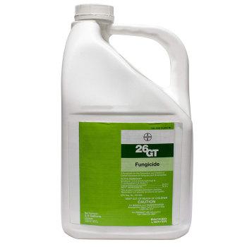 Chipco 26 GT Fungicide.  2.5 gallon