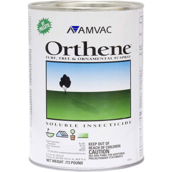 Orthene 97.4% Acephate .77lb Systemic Soluble Insecticide Turf Tree & Ornamentals