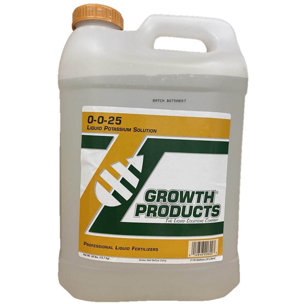 00-00-25 Liquid Potassium 2.5 Gallons