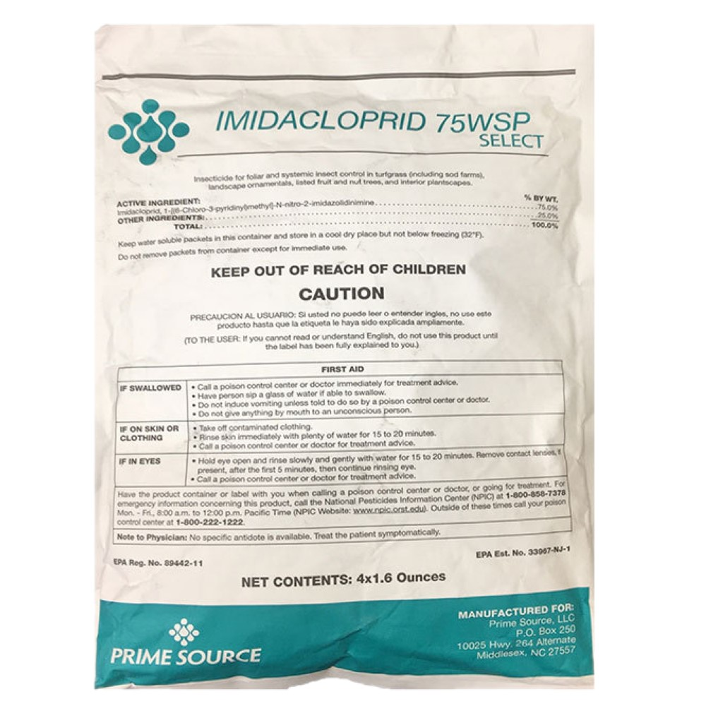Imidacloprid 75WSP Select: