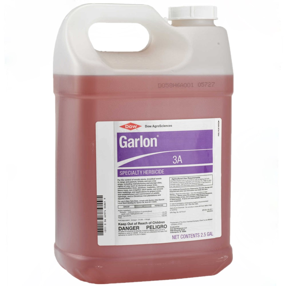Garlon 3A Triclopyr Herbicide 2.5 Gallon