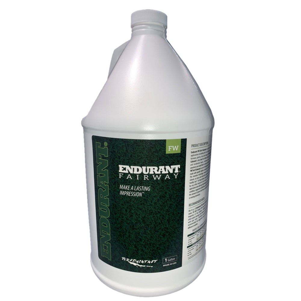 Endurant FW Concentrated Turf and Grass Colorant. 1 Gallon