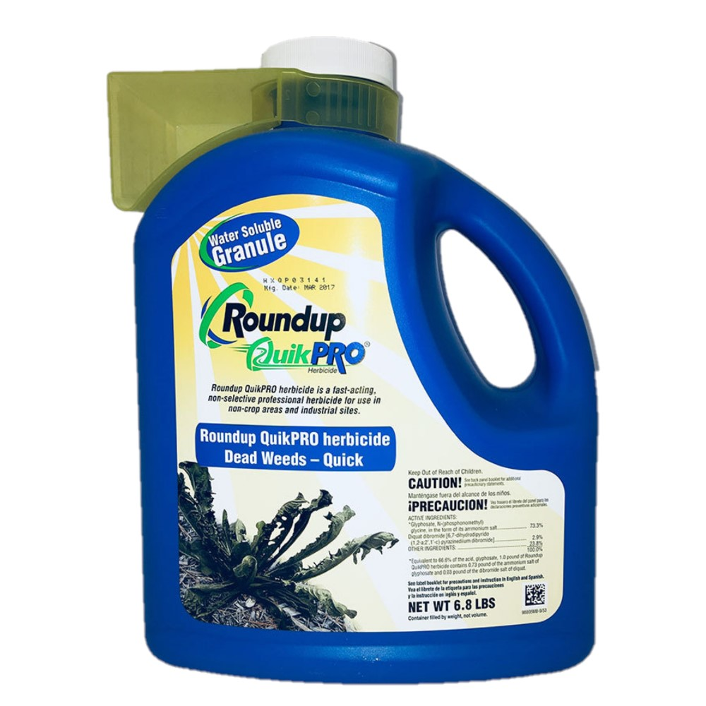 Roundup Quikpro 6.8lb 1 Bottle