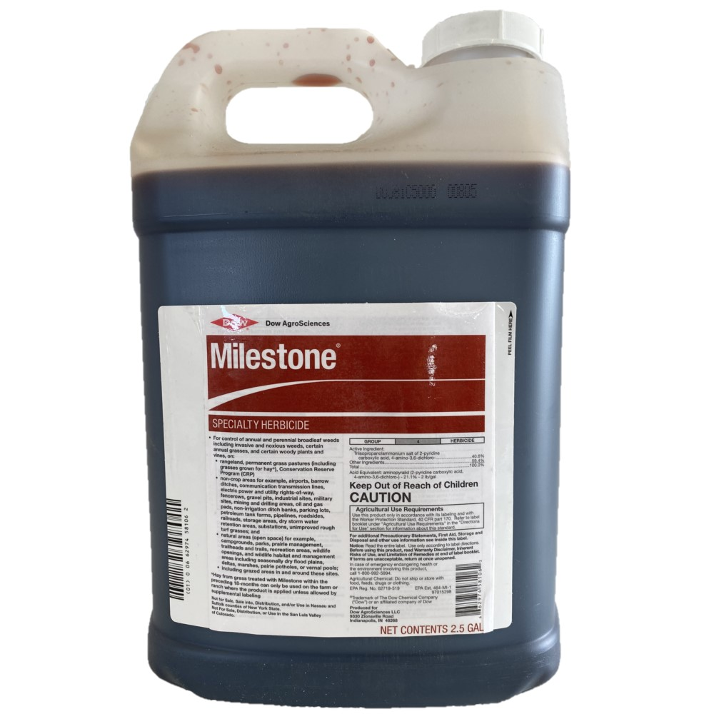 Milestone Specialty Herbicide with Aminopyralid for Noxious Weeds