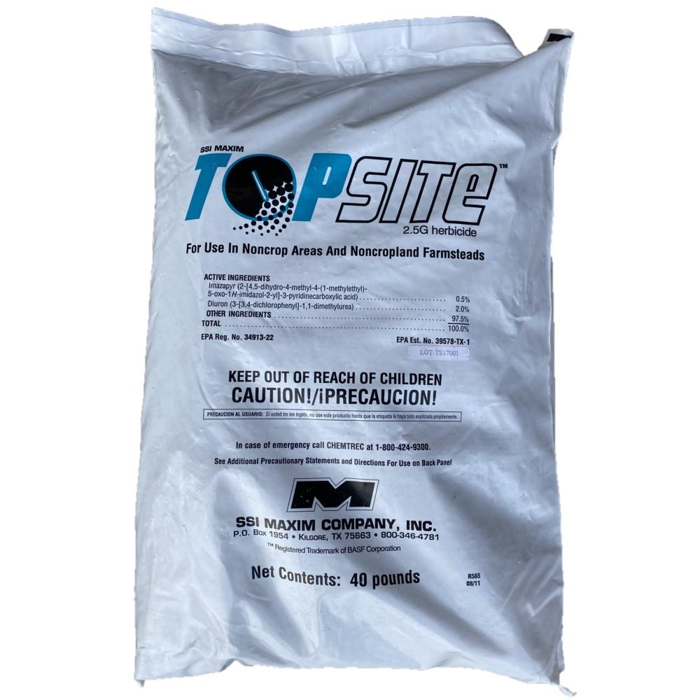 Topsite 2.5 G Herbicide (TOTAL VEGETATION CONTROL) Granular