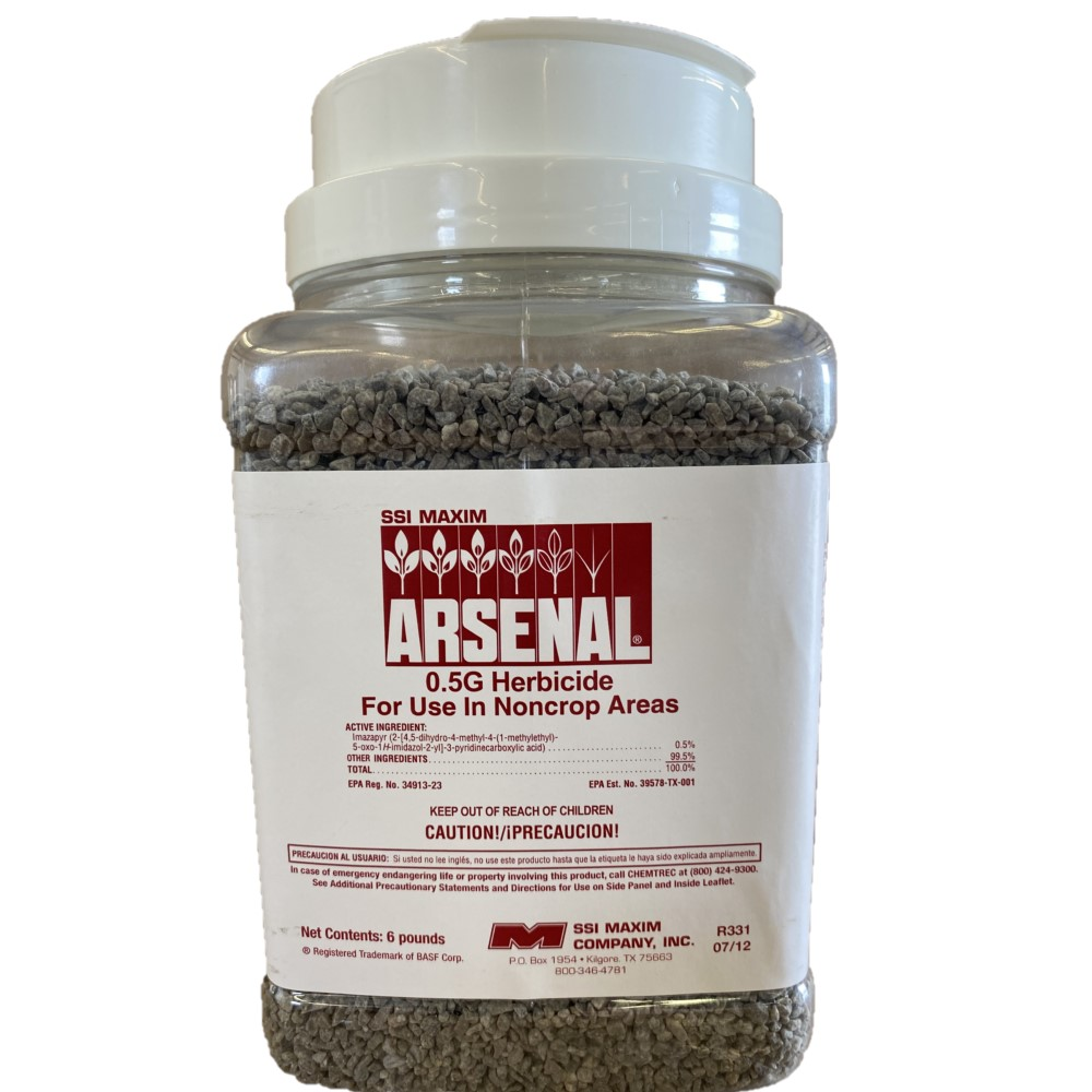Arsenal Soil Sterilent for Use in Noncrop Areas