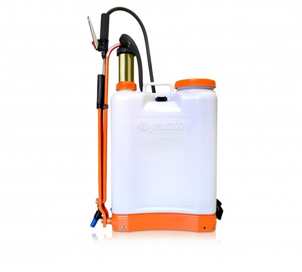 Jacto CD400 Backpack Sprayer, Translucent White