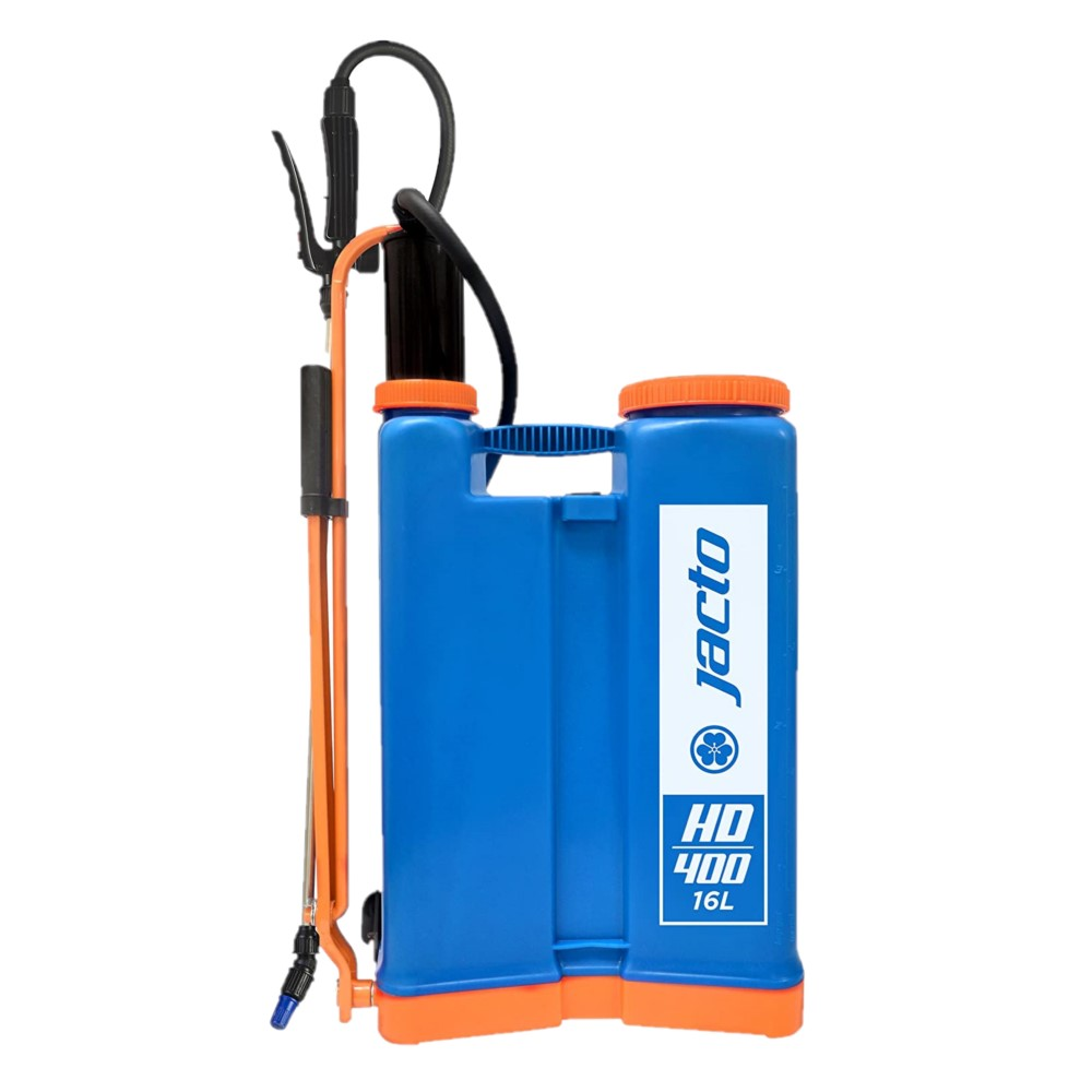 Jacto HD400, 4 Gallon No Leak Backpack Sprayer with Heavy Duty Pump, For Lawns and Gardens - Color, Blue