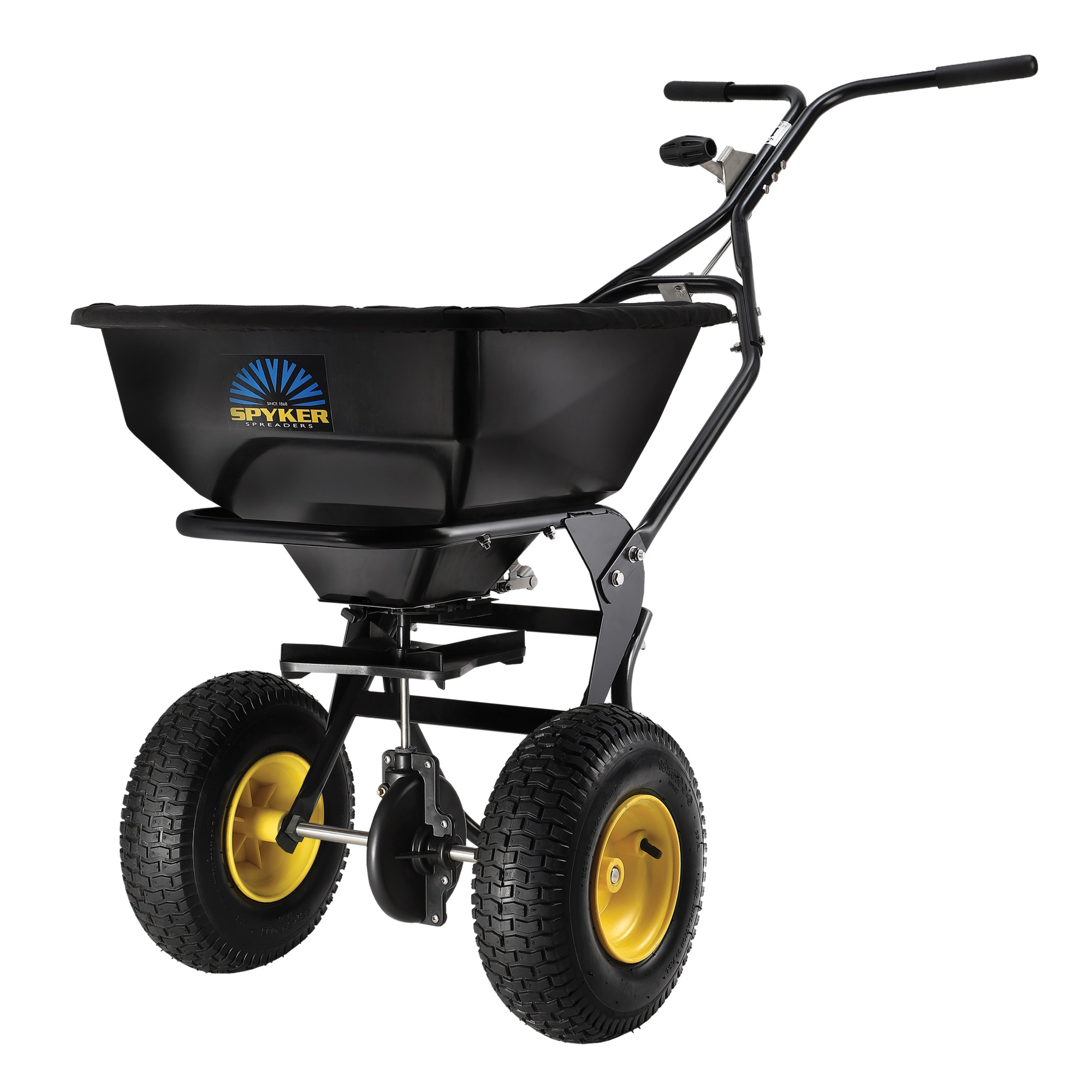 Spyker Ergo-Pro Walk-Behind Broadcast Spreader - 50-Lb. Capacity, Model# SPY50L-1P